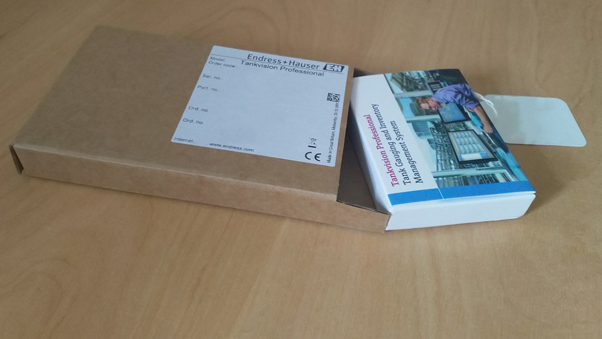 Packaging for E+H software