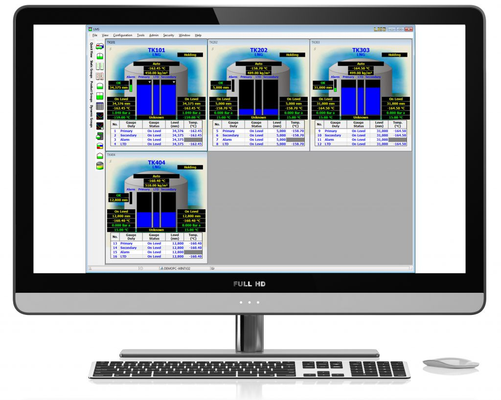 LMS LNG software Quick View